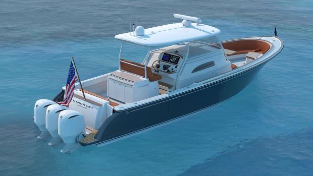 Hinckley Sport Boat Center Cabin