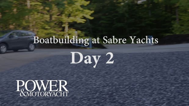 Boatbuilding at Sabre Yachts - Day 2