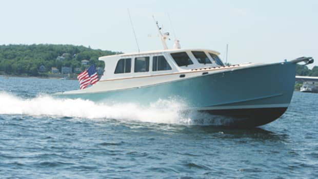 Wesmac builds classic downeast vessels like the 42-footers like Kathleen IV