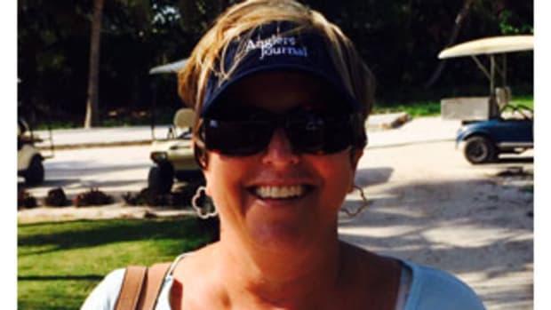 Jen Dudas, the director of the Bahamas Billfish Championship