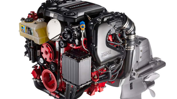 General Motors 4.3-liter V-6 for stern drives
