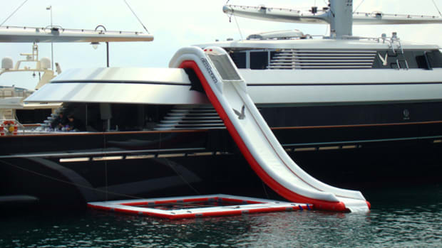 Custom Yacht Slide