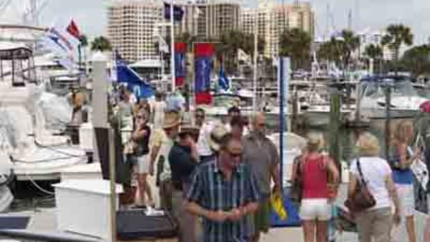 The Suncoast Boat Show in Sarasota