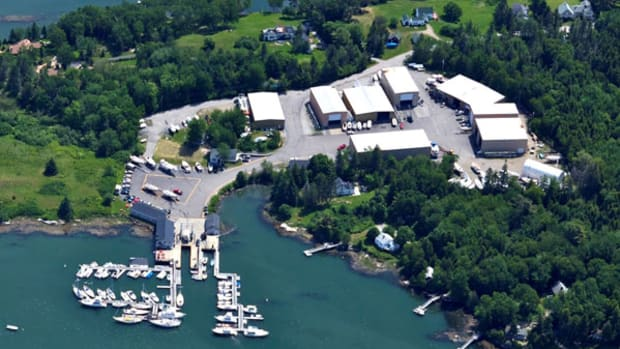 Boothbay Region Boatyard in Southport, Maine