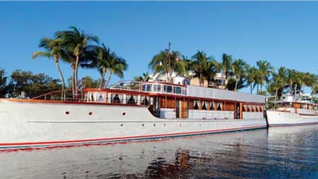 Vintage Yachts at the Ocean Reef Club
