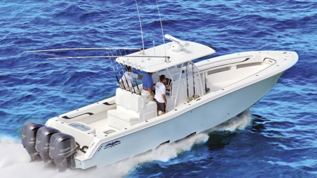 Invincible 36 Open Fisherman