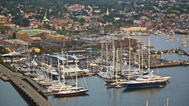 Newport Shipyard, in Newport, Rhode Island