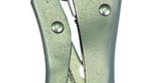Needle-nose locking pliers