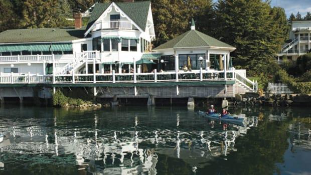 Roche Harbor McMillin's Restaurant, San-Juan-Island