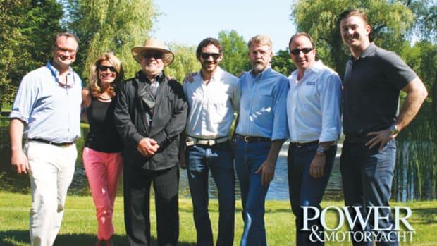 The PMY Crew (from left): Jason Y. Wood, Erin Kenney, John V. Turner, Christopher White, Bill Pike, George Sass Jr, Kevin Koenig.