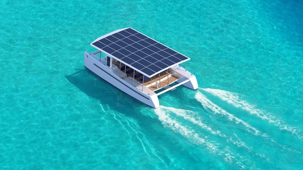 SoelCat 12, an autonomous solar electric catamaran
