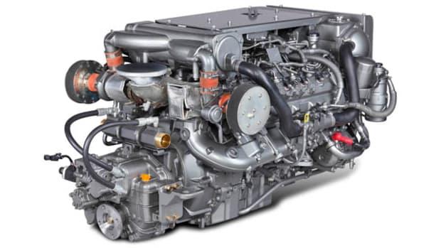 Yanmar 8LV Diesel engine