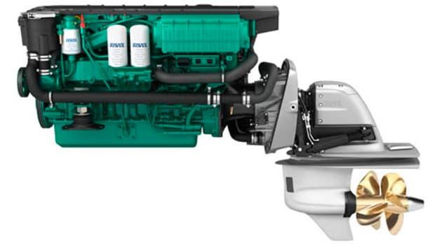 Volvo Penta D6-400 diesel engine