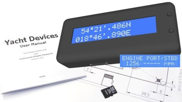 Yacht Devices NMEA2000 Text Display