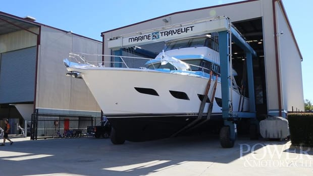 Launch of the Riviera 68 Sport Yacht