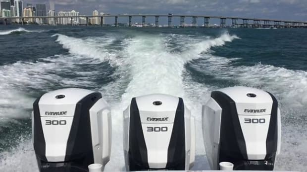 Evinrude E-TEC G2 Engines.