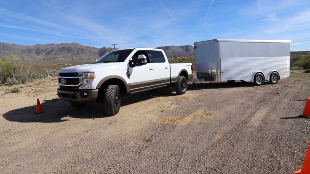 Outboard Magazine Testing Ford's Pro Trailer Backup Assist
