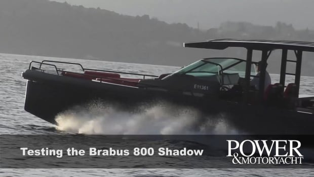 Testing the Axopar Brabus Shadow 800