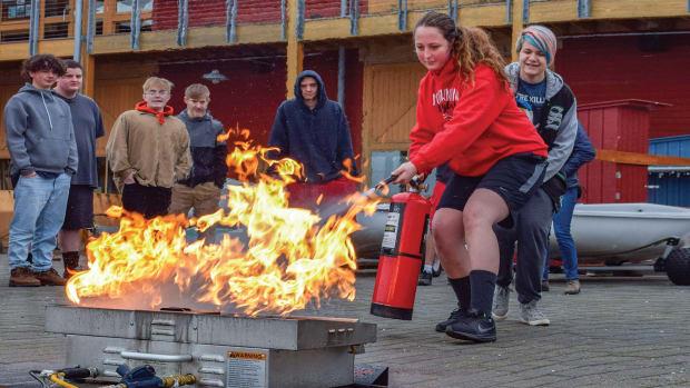 prm_Port Townsend Maritime Academy firefighting_Northwest Maritime Center copy