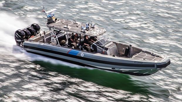 41-foot SAFE Boats Interceptor