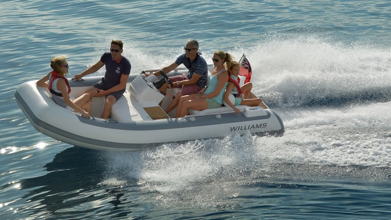 A Profile of Williams Jet Tenders