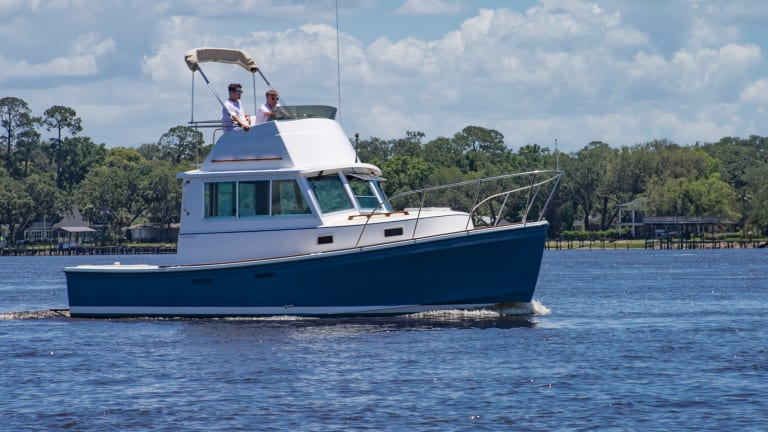 Cruising Aboard Capt. Pike's Cape Dory 28