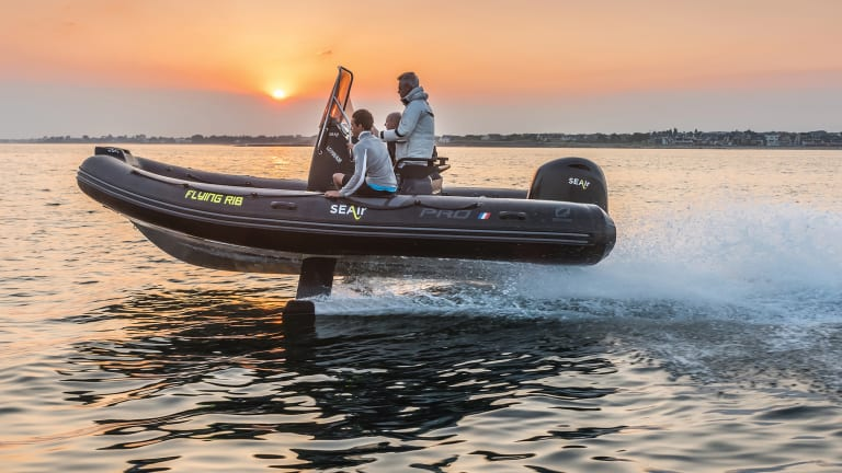 Powerboat Hydrofoil Technology