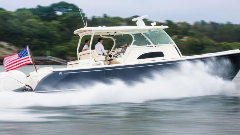 First Look: Hinckley Sport Boat 40C