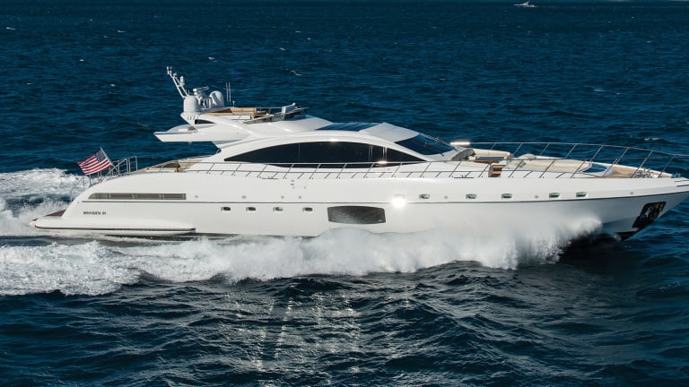 Used Boat Review: Mangusta 94 Maxi Open