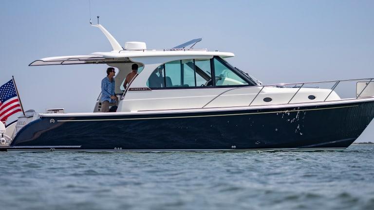 New Boat: Hinckley Sport Boat 40x
