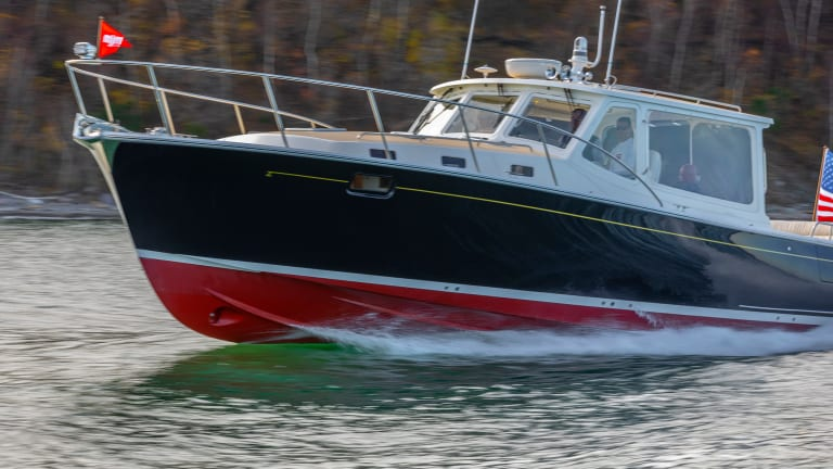 MJM 43z and Boston BoatWorks