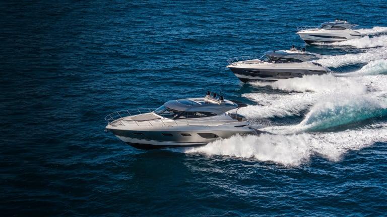New Boats: Riviera Platinum Series