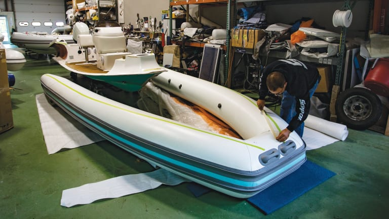 How To Make Your Inflatable Boat Or Rib Last Longer Power Motoryacht