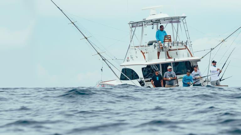 Billfishing Off Costa Rica