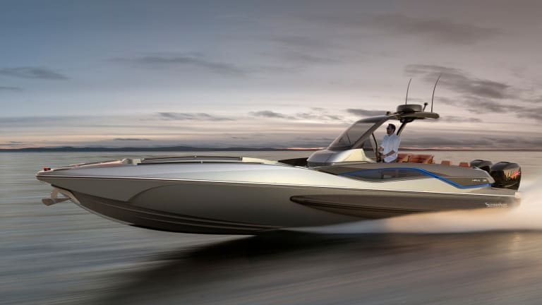 New Boat Alert: Sunseeker Hawk 38
