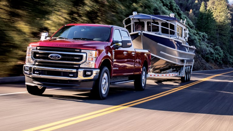 Tested: Ford's 2020 Super Duty Pickup Trucks
