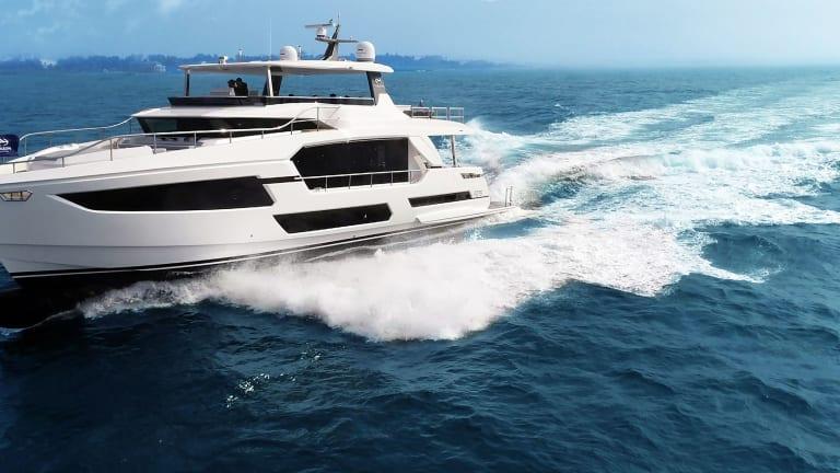 New Boat: Horizon FD75