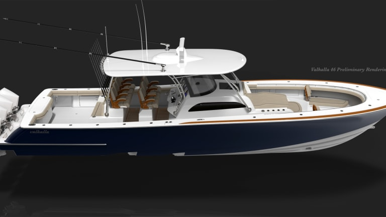 New Boat Alert: Valhalla 46