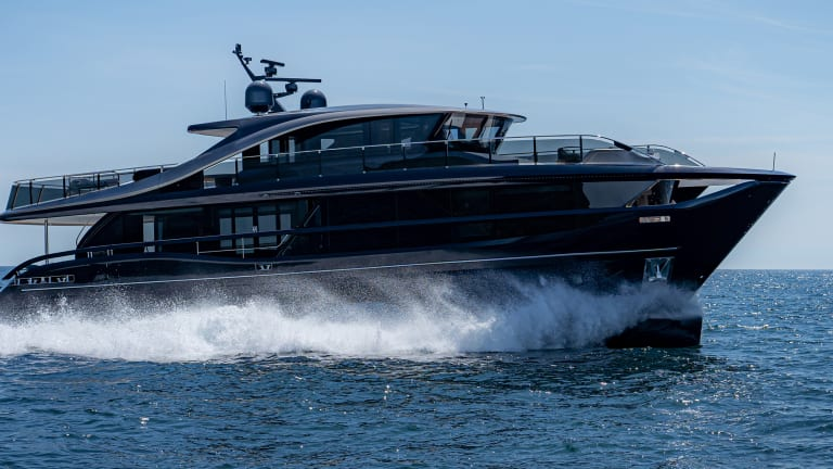 New Boat: Princess Yachts X95 Superfly