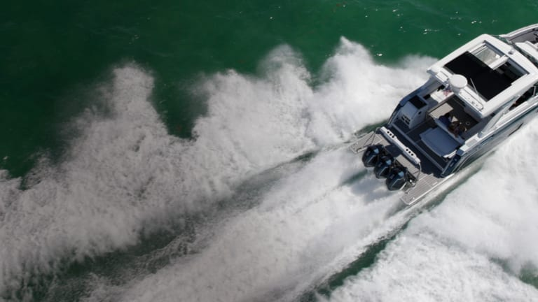 New Boat: Formula 380 SSC Outboard