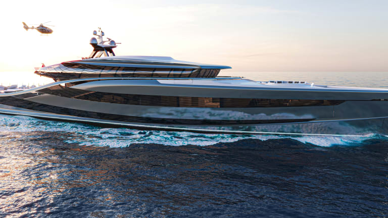 Green Energy on Vripack's Concept Superyacht