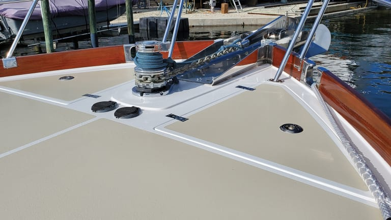How to Maintain Your Boat's Nonskid Deck
