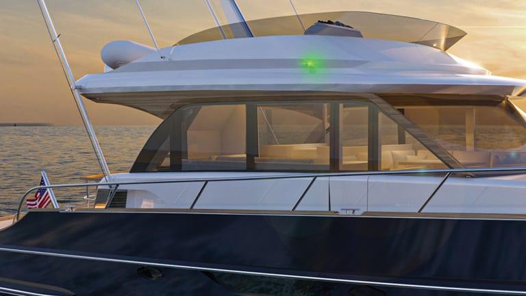 Drawing Board: Burger 63 Sportfishing Motor Yacht