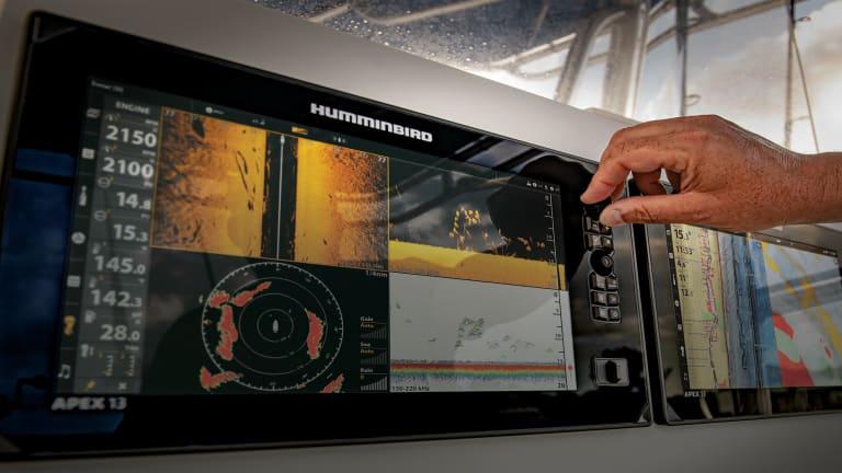 Humminbird's APEX Series Multifunction Displays
