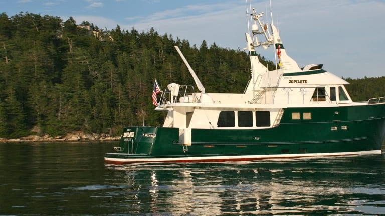 Cruising the Maine Coast with a Legendary Couple