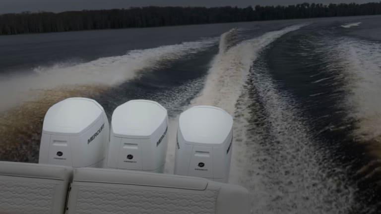 Mercury 600: Testing the V12 Monster of Lake X