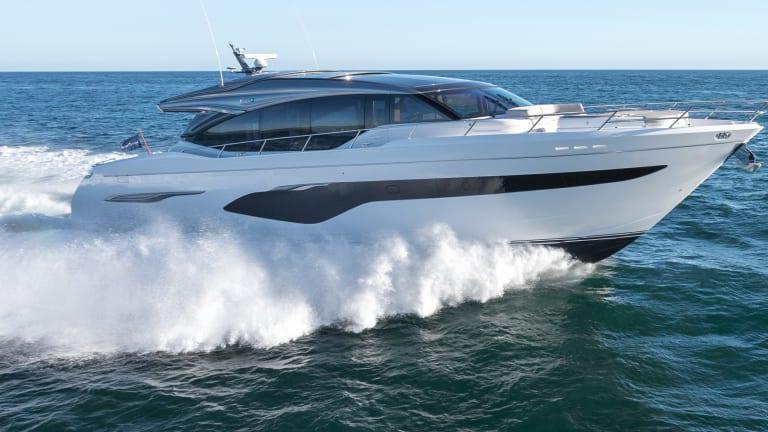 New Boat: Princess V78