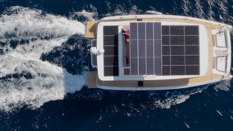 Tested: Silent 55 Solar-Electric Power Catamaran
