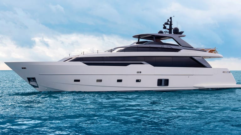 New Boat: Sanlorenzo SL 96 Asymmetric
