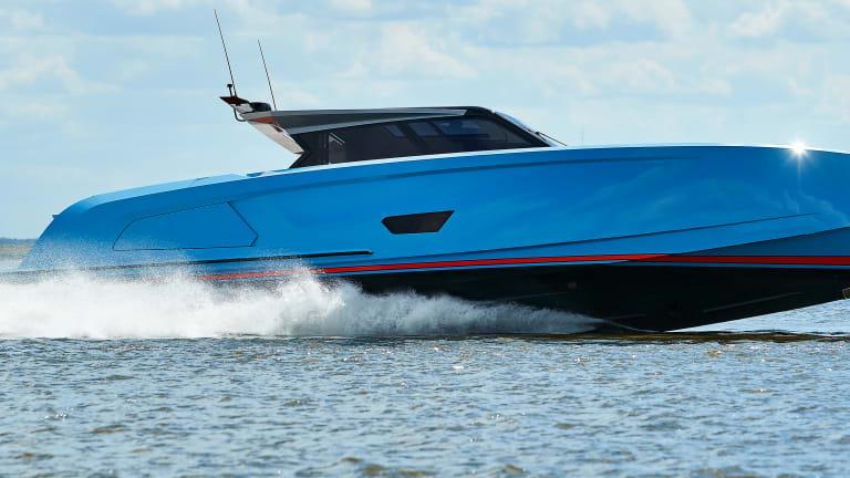 New Boat: Vanquish VQ58
